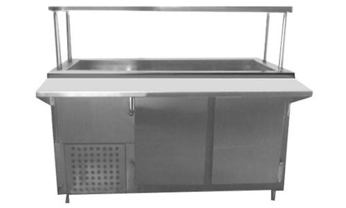 Base Refrigeradora con Repisa